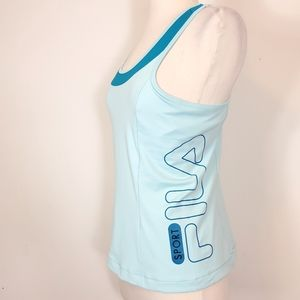 Fila Spelled out built in bra Performance top